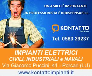 Kontatto Impianti Elettrici - Porcari Lucca - Tel. 058329237
