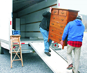 Removals service in Lucca